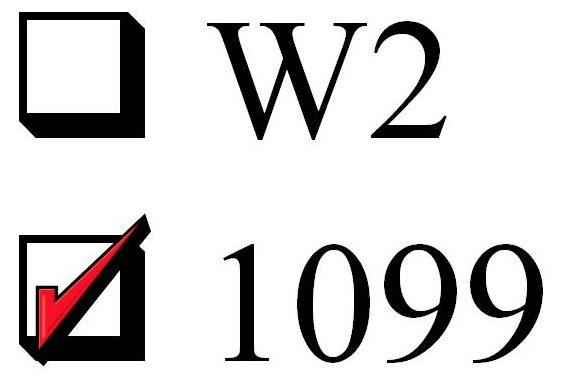 w2 1099